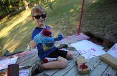 Plante vénéneuse peinture - pour les enfants !