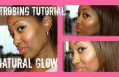 Effet stroboscopique maquillage : Naturelle peau éclatante