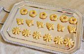 Spritz Cookies (sans gluten/grain)