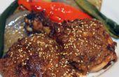Cuit le poulet avec la Sauce Mole