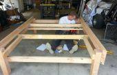 Cadre de lit plate-forme/stockage