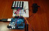Contrôle avec Arduino + clavier 4x4 + Servo (UPDATE) d'accès