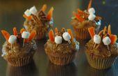 Feux de gâteau de carotte!!!