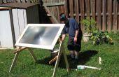 Sauver le monde avec un rayon de la mort solaire géant