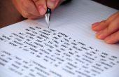 Comment modifier votre propre écriture