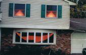 Transformer votre maison dans une énorme Jack-O-lanterne