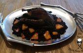 Chair plus faute - Black Silkie poulet rôti avec frotter de Paprika fumé