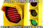Lampe de signalisation entièrement fonctionnel LEGO