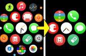 Simplifier l'écran d'accueil Apple Watch