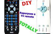 Réutiliser une télécommande de TV totalement !