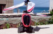 Rapide et sale atterrissage hélicoptère R/C Mini patins fix