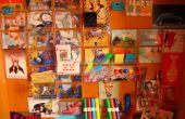 Ferraille/Tiny mur fait de boîtes de CD cassette (' ; '