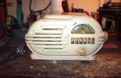 Réparation d'un logement de radio « porc »