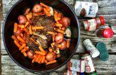 Camp la façon facile - rôti de sol de cuisine
