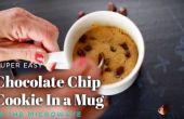 2 minutes Cookie chocolat micro-ondes