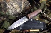 Comment faire un couteau Bushcraft