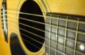 String ou pas de chaîne : Comment faire pour remplacer les cordes d'une guitare acoustique à cordes d'acier