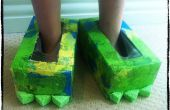 DIY Monster chaussures