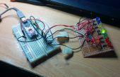 Premiers pas avec le traitement et Arduino (contrôler le registre à décalage d'ordinateur)