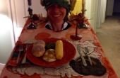 Costume de dîner de Thanksgiving