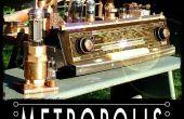 """Le stockage de données Steampunk """"METROPOLIS j'ai «"""