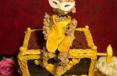 Le fantôme de l'opéra Monkey Music Box Cake