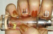 Nail Art tutoriel à rayures | Samantha beauté