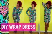 BRICOLAGE Wrap Dress + comment assembler les manches