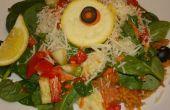 Salade de riz espagnol