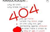 Ajouter une page de 404 erreur personnalisée à votre site