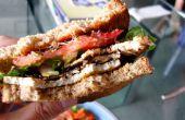 Miso Tofu sandwichs