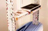 Journal en étagère de livre