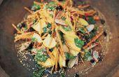 Recette de salade de crunch Morosh