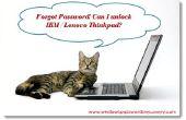 Déverrouiller IBM / Lenovo Thinkpad