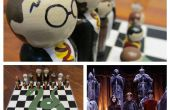 Harry Potter Chess Set & affaire