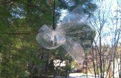 Système de collecte de l'eau de sachet en plastique
