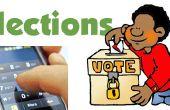 Vote intelligent utilisant DTMF