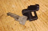 Réparer une poignée clée cassée.
