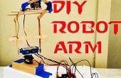 Bras robotisé Arduino DIY