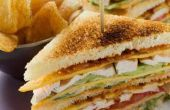 Comment faire un Sandwich Club