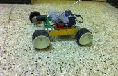 Sur chenilles Robot construit