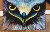 Bricolage peinture acrylique d'Eagle Eye