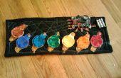 Générateur de tonalité de tissu de microcontrôleur en code C