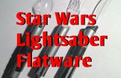 Star Wars Lightsaber ustensiles
