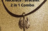 Collier / Bracelet - Combo 2 en 1 (unisexe)