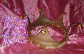 Faites-vous Royalty bricolage avec cette couronne de métal de rebut