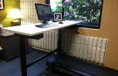 Debout et tapis roulant Bureau bricolage