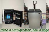 Comment construire un kegerator kegerator de kit ou homebrew d'un mini réfrigérateur Sanyo