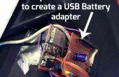 Adaptateur ChipKIT Proto-Shield pour alimentation externe USB
