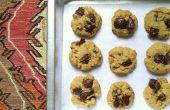 Gourmet salé biscuits morceaux de chocolat au beurre